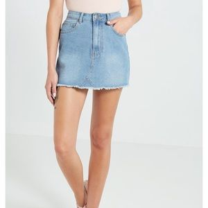 Cotton On denim mini skirt
